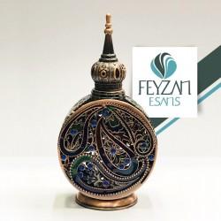 Desenli Osmanlı Saray Esans Şişesi 12 cc