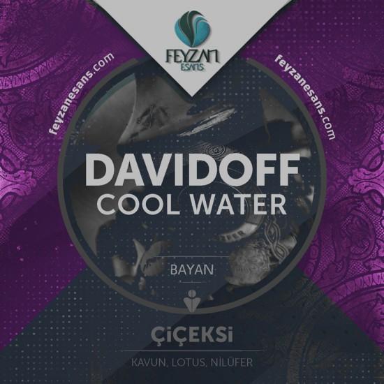 Davidoff Cool Water Bayan Kokusu Esansı