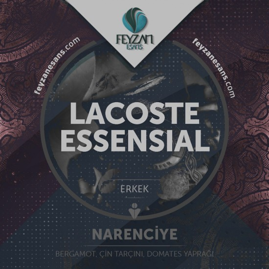 Lacoste essential Kokusu Esansı