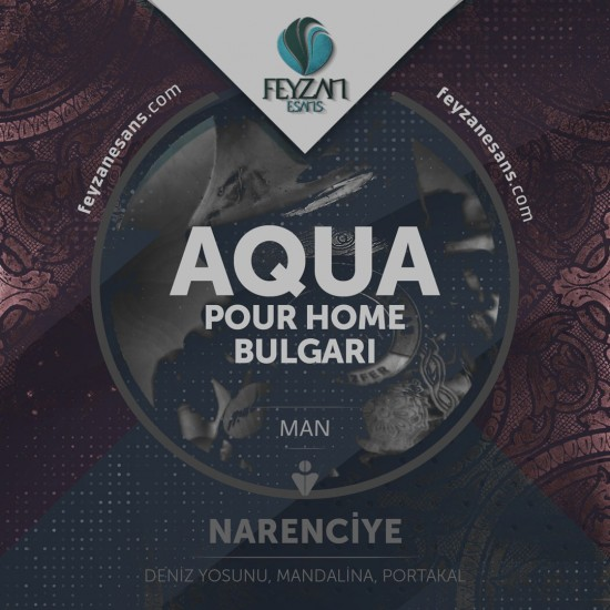 Bulgari Aqua Pur Home Kokusu Esansı