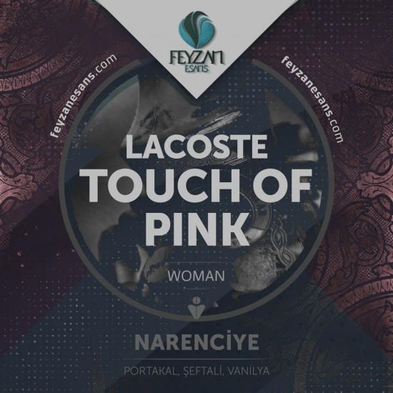 Lacoste Touch of Pink Bayan Kokusu Esansı