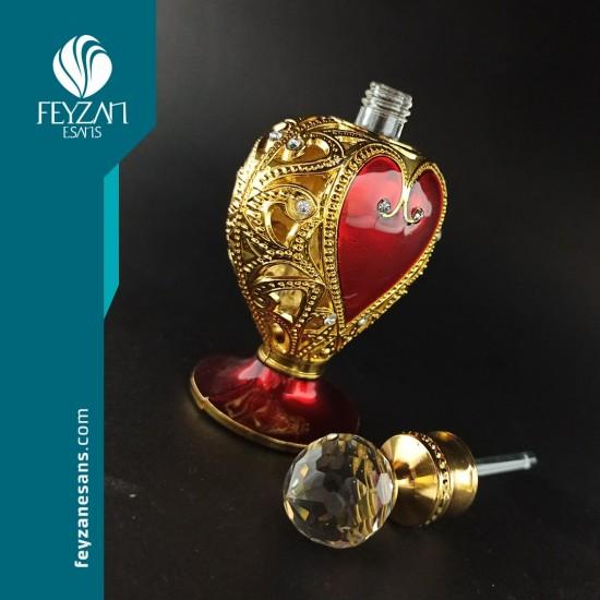 Kalp Osmanlı Saray Esans Şişesi 10 cc