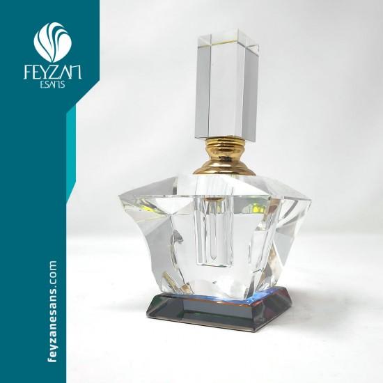 Kristal Esans Şişesi 6 cc