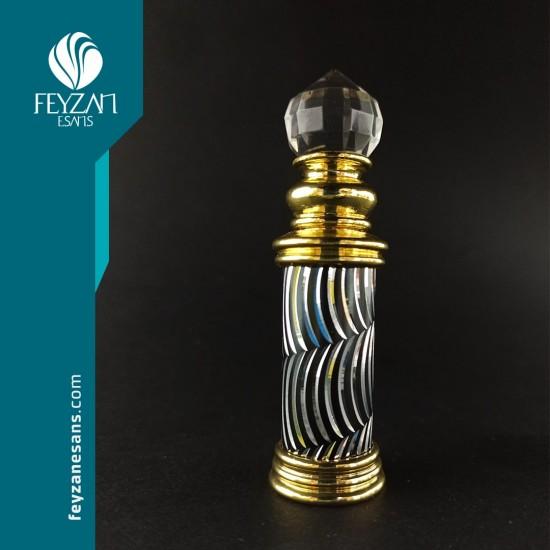 Altın Sarısı Osmanlı Saray Esans Şişesi 4 cc